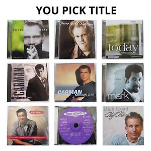 Contemporary Christian Music CDs Chapman Carman Doerksen Kenoly & More YOU PICK