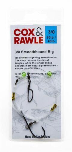 COX /& RAWLE SMOOTHHOUND READY MADE RIG 3//0