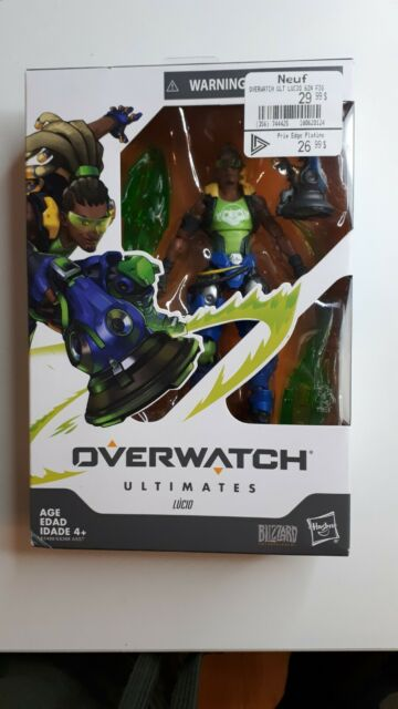 Overwatch Ultimates Lucio 6 Inch Action Figure ~ NEW ~ FREE SHIPPING