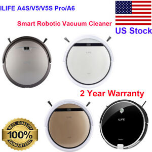 ILIFE-A4S-V5-V5S-Pro-A6-Smart-Robot-Vacuum-Cleaner-Auto-Charge-Sweeper-Machine