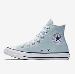 Converse Chuck Taylor All Star Hi Polar Baby Blue US Women Sneakers ... f664c44874