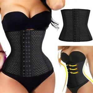 Women-Men-Waist-Training-Cincher-Tummy-Girdle-Belt-Body-Shaper-Corset-Trimmer-US