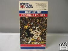 Best of the Football Follies - NFL Films Video (VHS, 1985)