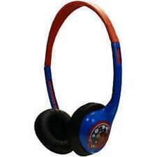 Little Star Childrens Kids Reduced Volume Headphones Roary The Racing Car - Red