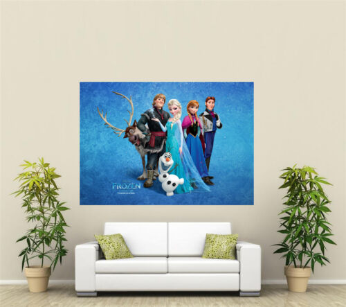 Frozen Giant 1 Piece Wall Art Poster KR142