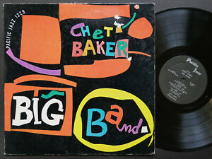CHET-BAKER-ART-PEPPER-Big-Band-LP-PACIFIC-JAZZ-PJ-1229-US-039-57-MONO-Bobby-Timmons
