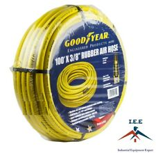 "3//8/"" x 100ft Red Continental Formerly GoodYear Rubber Air Hose"