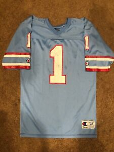 6371bb56 Image is loading Vintage-Houston-Oilers-Champion-Jersey-Warren-Moon-1-