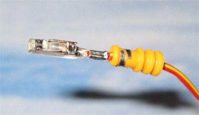5x Reparatur Leitungen Kabel + 30cm 000979034E mit Kontakten für PDC VW Audi BMW