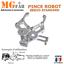 miniatura 1 - Kit pince robot métal alu 2 DOF   Gripper robotique MG995 Arduino PIC ARM STM