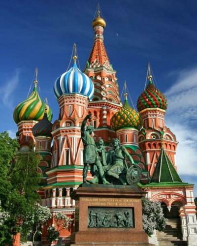 Van-Go Paint-By-Number Kit Moscow Saint Basil/'s Cathedral