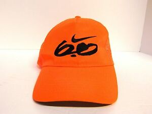 Nike 6.0 Otto Snapback Orange Hat Cap Mesh Back Adjustable  8f1ee3a49b1