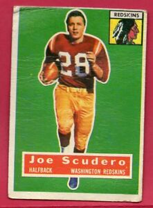 1956-TOPPS-JOE-SCUDERO-85-WASHINGTON-REDSKINS-GOOD-VERY-GOOD-FREE-SHIPPING