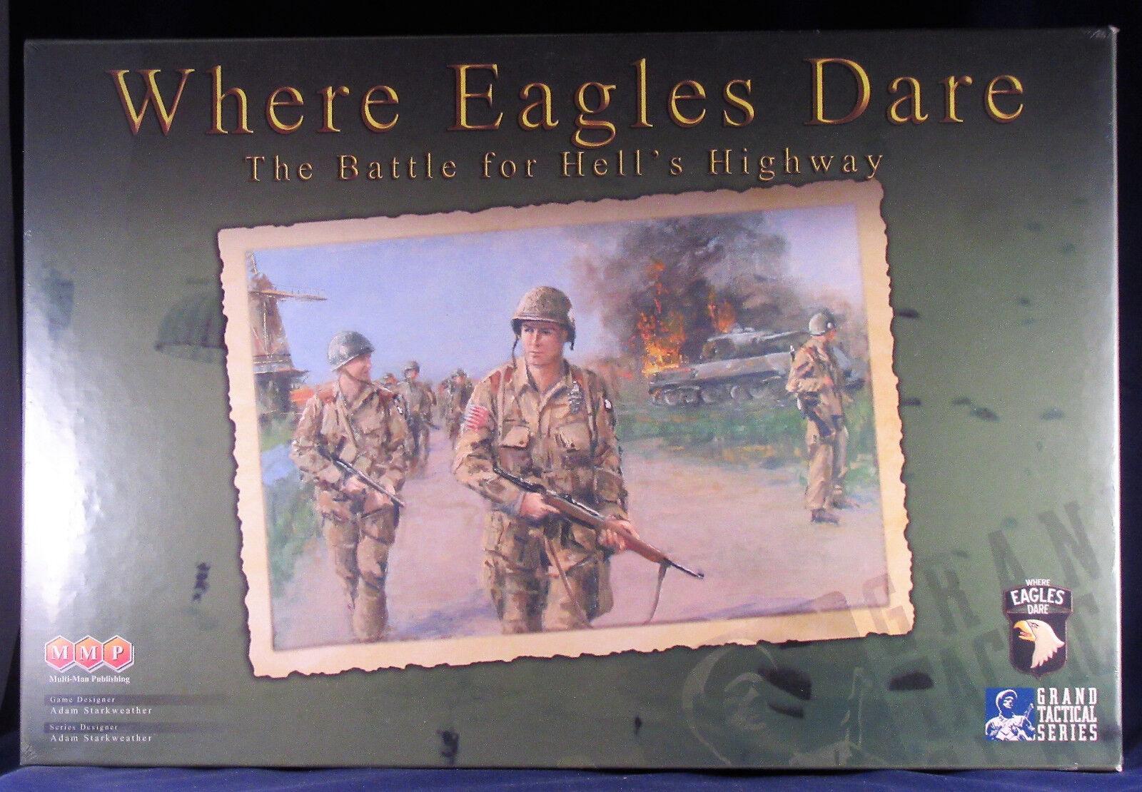 Where Eagles Dare  101st Airborne in Market-Garden  MMP  shrinkwrapped   OOP