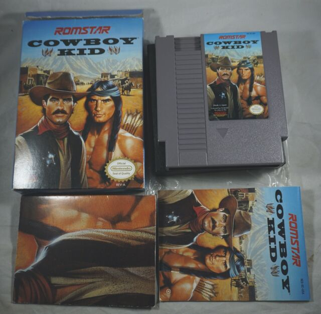 Cowboy Kid (Nintendo NES) Complete in Box w/ Poster NEAR MINT