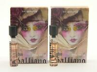 John Galliano Eau De Parfum Edp Miniature Roll On 2ml 0.06oz (lot Of 2)