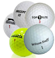 100 Near Mint AAAA Assorted Mix Brands and Models Used Golf Balls (4A)