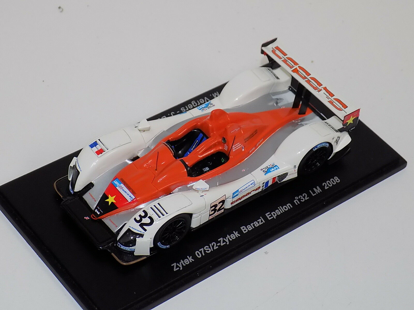 1 43 Spark Zytek 07S 2 voiture de  32 24 H DU MANS 2008 S1483