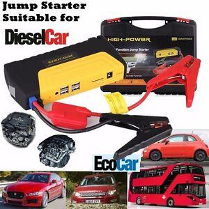 68800mah portable diesel car jump start pack booster charger battery power bank ebay. Black Bedroom Furniture Sets. Home Design Ideas