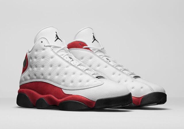 bcc6b6eadb4 Nike Air Jordan XIII 13 Retro Chicago Cherry White Team Red 414571-122 Sz 18