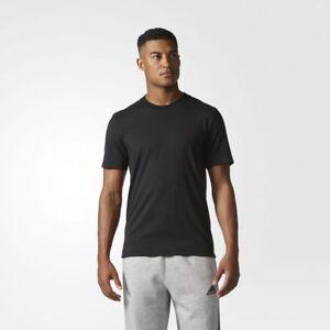 BRAND-NEW-45-Adidas-Men-039-s-Essentials-Droptail-3-Stripes-Tee-BQ1543