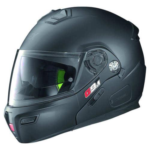 GREX G9.1 EVOLVE FLIP UP MODULAR TOURING Motorcycle Motorbike Helmet MATT BLACK