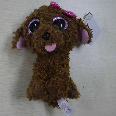 TY BEANIES BOOS Poodle dog Maddie 6 inch STUFFED DOLL NEW