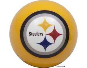 Image Is Loading PITTSBURGH STEELERS YELLOW NFL BILLIARD GAME POOL TABLE