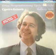 GRIEG-MORNING MOOD-LYRIC PIECES-HOLBERG SUITE-KATSARIS-TELDEC GERMANY RARE OOP