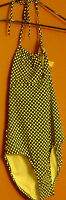 Womens Gapbody One-piece Polka-dot Swimsuit Size Xl-white/navy Blue