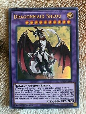 Dragonmaid Sheou ETCO-EN041 Ultra Rare 1st Edition YuGiOh