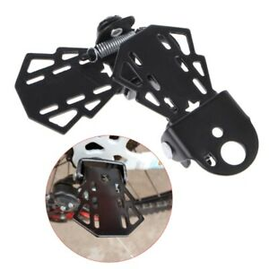 Bicycle Rear Seat Pedal Steel Folding Mountain Bike Cycling Cool Riding Footpegs