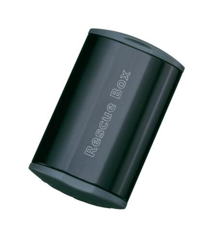 Topeak Rescue Box schwarz Fahrrad Flickzeug