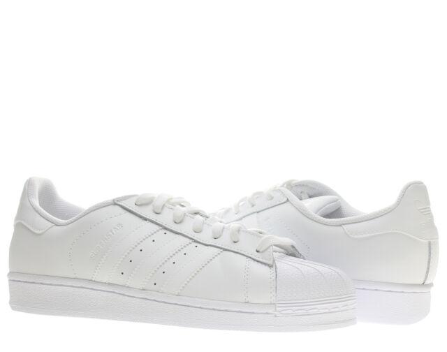 bliżej na specjalne do butów kupuję teraz adidas Superstar Foundation B27136 Mens White Leather Casual Lifestyle  Shoes 10