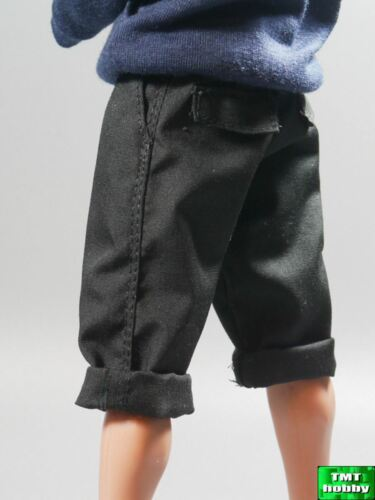 Black Man/'s Shorts 1:6 Scale ace Action Figure Street Style A804BLK