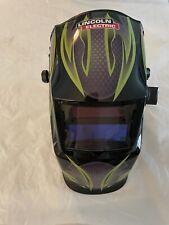 Lincoln Electric K4438 1 Galaxsis Pattern Auto Darkening Welding Helmet New
