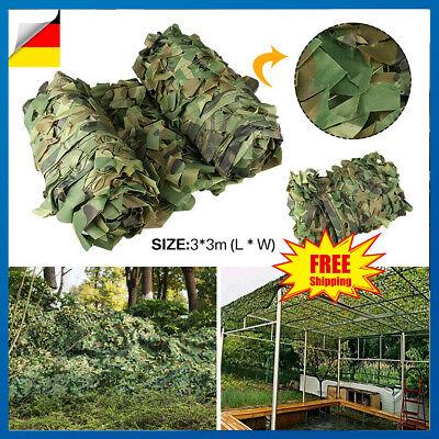 Tarnnetz Flecktarn Bundeswehr Armee Tarnung Tarn Camo Woodland Netz 7 x 1.5 m