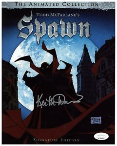 Keith David Autograph Signed 8x10 Photo - Spawn (JSA COA)