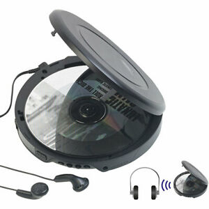 cd spieler tragbarer cd player mit ohrh rern bluetooth und anti shock funktion ebay. Black Bedroom Furniture Sets. Home Design Ideas