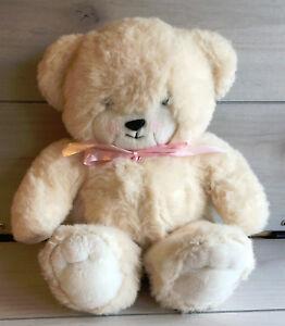 A24-Vintage-Handmade-Cream-Teddy-Bear-Cub-Plush-13-034-Stuffed-Toy-Lovey-Baby