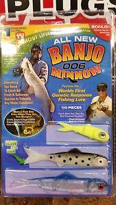 As seen on tv 006 banjo minnow fishing lure set 110 pieces for Fishing lure as seen on tv