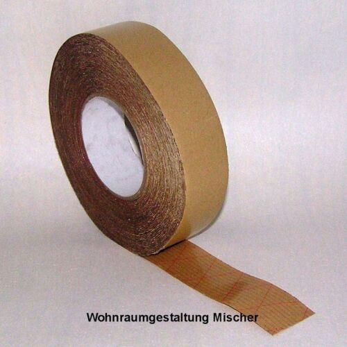 Gerband 973 Montageband Klebeband 50 m.* 55 mm Teppichklebeband Trockenklebeband
