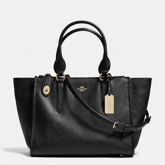 NWT Coach F30530 Andi Backpack Crossbody Handbag in Pebble Leather Black