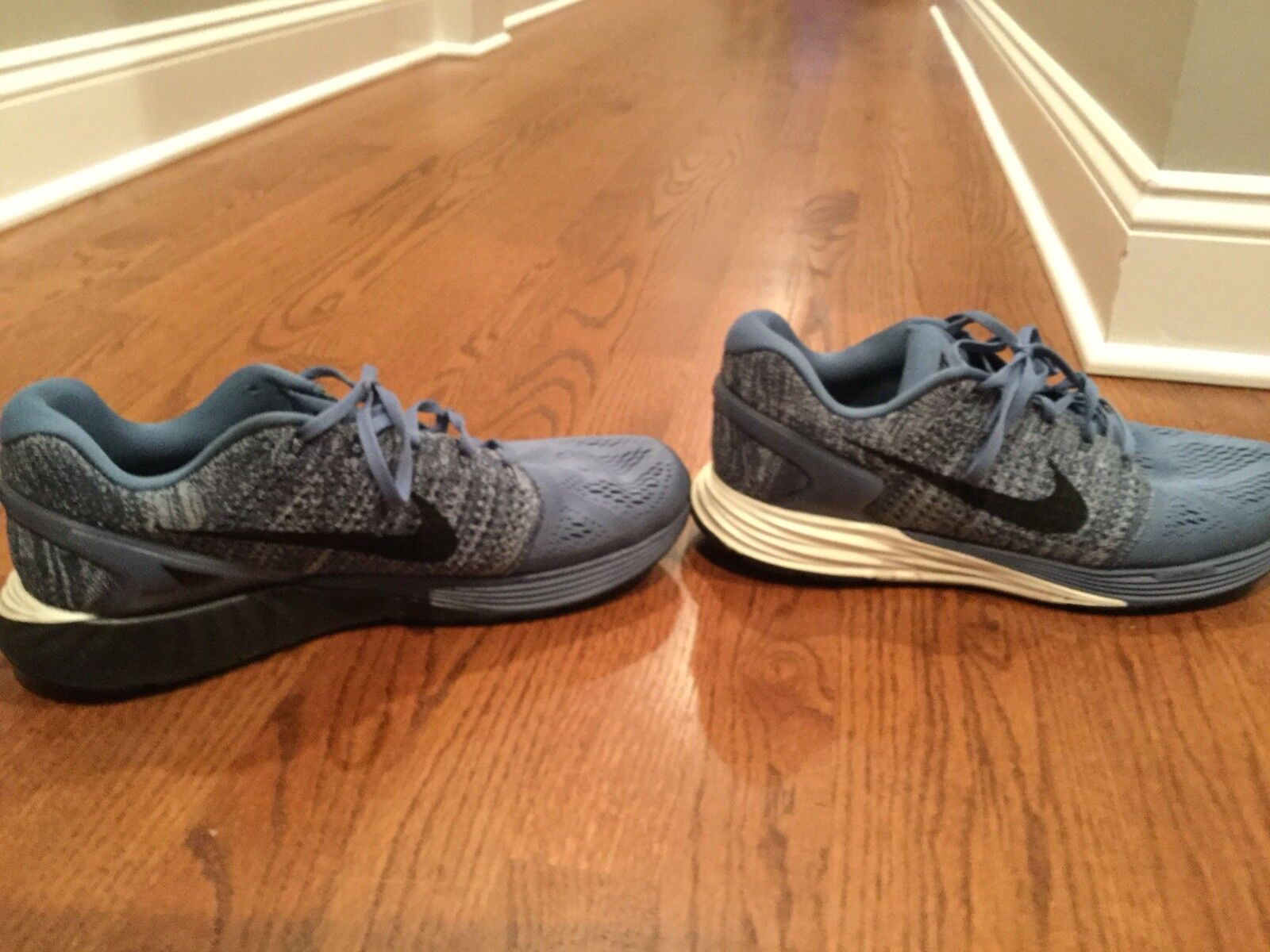 Nike lunarglide 7 7 7 Size 12 - with garmin watch b7e910