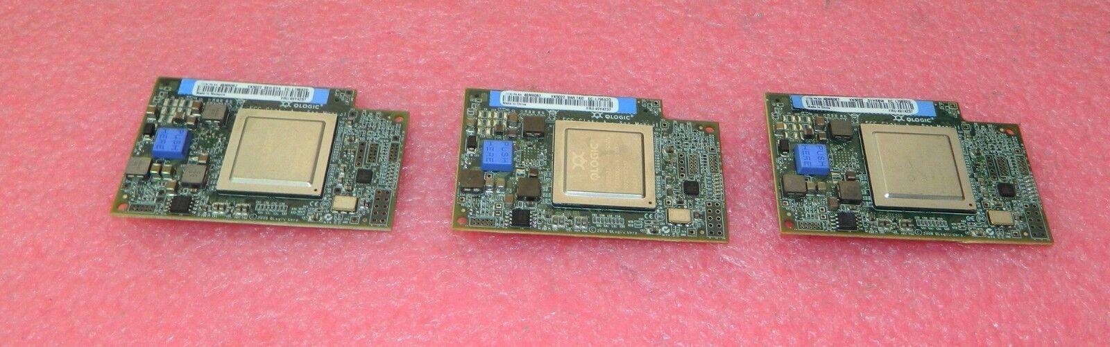 Lot of 3 IBM QMI2572- IBM 4GB FC FIBER CHANNEL EXPANSION CARDS 49Y4237 46M6067