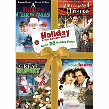 Hallmark Holiday DVD 4 Movies NEW (The Great Rupert, The Man Who Saved Christmas