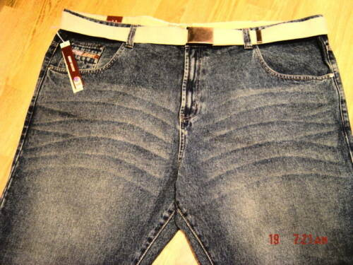 Nouveau Jeans Délavé élégant dur Sandblast Laver Taille 46