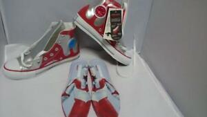 ad376c9ea02b Rare Item Converse All Star Ultraman R HI Silver Red Sneaker From ...
