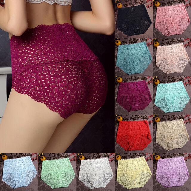 Women Lace G-string Briefs V-string Thongs Lingerie Underwear Knickers Panties