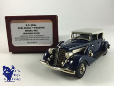 1/43 BROOKLIN BC 008A BUICK PHAETON MODEL 98C 1934 EMPIRE BLUE